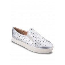 Silver Star Cut-Out Slip-Ons