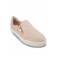 Nude Fashionable Slip-Ons